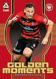 2017/18 FFA Football Golden Moments GM12 Brendon Santalab Wanderers