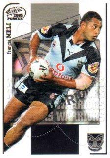 2005 NRL Power Base Card 164 Francis Meli Warriors