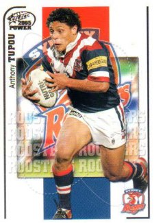 2005 NRL Power Base Card 157 Anthony Tupou Roosters
