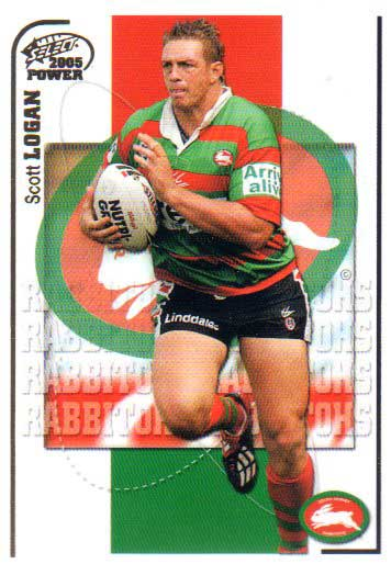 2005 NRL Power Base Card 141 Scott Logan Rabbitohs