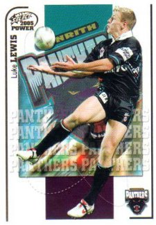 2005 NRL Power Base Card 116 Luke Lewis Panthers