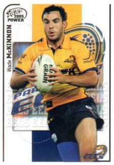 2005 NRL Power Base Card 105 Wade McKinnon Eels
