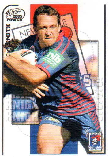 2005 NRL Power Base Card 84 Craig Smith Knights