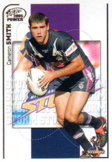2005 NRL Power Base Card 73 Cameron Smith Storm