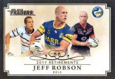 2018 NRL Traders Retirements R5 Jeff Robson Eels