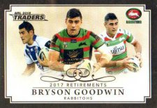 2018 NRL Traders Retirements R7 Bryson Goodwin Rabbitohs