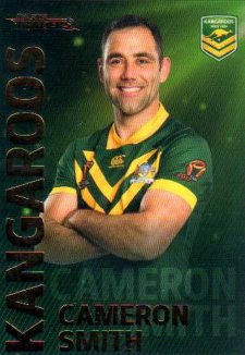 2018 NRL Traders World Cup Heroes WC21 Cameron Smith Kangaroos