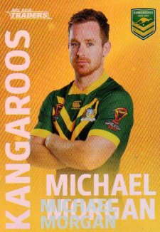 2018 NRL Traders World Cup Heroes Album Version WCP18 Michael Morgan Kangaroos