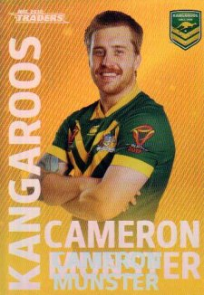 2018 NRL Traders World Cup Heroes Album Version WCP19 Cameron Munster Kangaroos