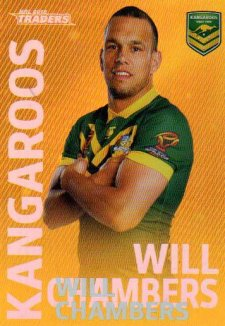 2018 NRL Traders World Cup Heroes Album Version WCP2 Will Chambers Kangaroos