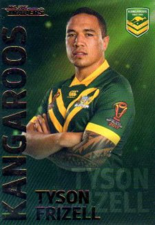 2018 NRL Traders World Cup Heroes WC6 Tyson Frizell Kangaroos