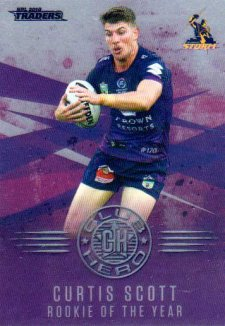 2018 NRL Traders Club Hero CH14 Curtis Scott Storm