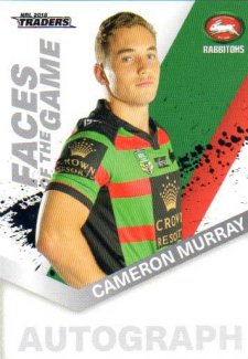 2018 NRL Traders Faces of the Game FG48 Cameron Murray Rabbitohs