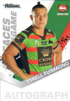 2018 NRL Traders Faces of the Game FG46 Tyrell Fuimaono Rabbitohs