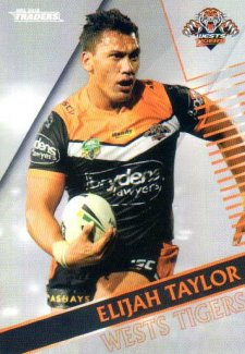 2018 NRL Traders Parallel Pearl Special PS160 Elijah Taylor Tigers