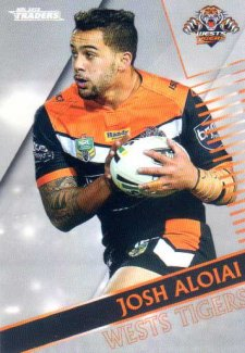 2018 NRL Traders Parallel Pearl Special PS152 Josh Aloiai Tigers