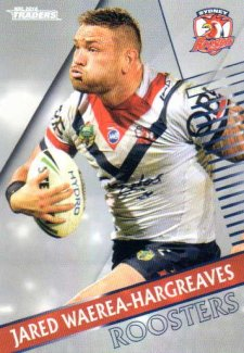 2018 NRL Traders Parallel Pearl Special PS140 Jared Waerea-Hargreaves Roosters