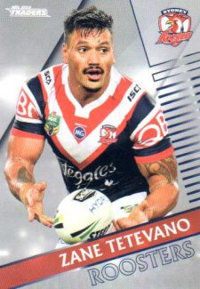 2018 NRL Traders Parallel Pearl Special PS139 Zane Tetevano Roosters