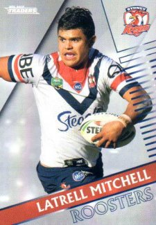 2018 NRL Traders Parallel Pearl Special PS137 Latrell Mitchell Roosters