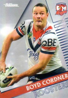 2018 NRL Traders Parallel Pearl Special PS133 Boyd Cordner Roosters