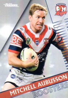 2018 NRL Traders Parallel Pearl Special PS132 Mitchell Aubusson Roosters
