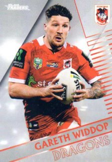 2018 NRL Traders Parallel Pearl Special PS130 Gareth Widdop Dragons