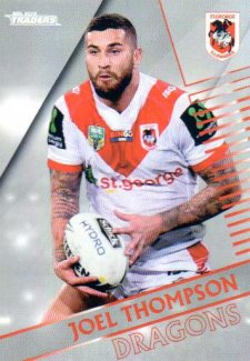 2018 NRL Traders Parallel Pearl Special PS128 Joel Thompson Dragons