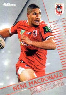 2018 NRL Traders Parallel Pearl Special PS125 Nene McDonald Dragons