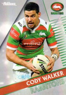 2018 NRL Traders Parallel Pearl Special PS120 Cody Walker Rabbitohs