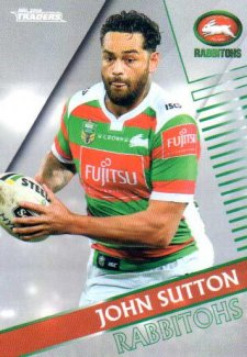 2018 NRL Traders Parallel Pearl Special PS119 John Sutton Rabbitohs
