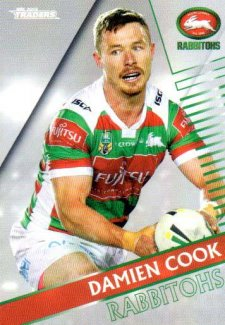 2018 NRL Traders Parallel Pearl Special PS114 Damien Cook Rabbitohs