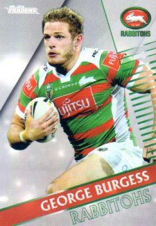 2018 NRL Traders Parallel Pearl Special PS112 George Burgess Rabbitohs