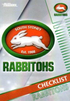 2018 NRL Traders Parallel Pearl Special PS111 Rabbitohs Checklist