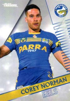 2018 NRL Traders Parallel Pearl Special PS100 Corey Norman Eels