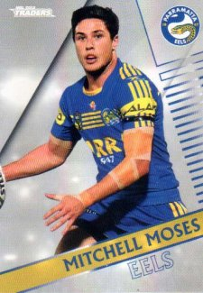 2018 NRL Traders Parallel Pearl Special PS99 Mitchell Moses Eels