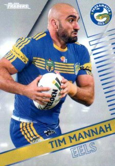 2018 NRL Traders Parallel Pearl Special PS97 Tim Mannah Eels