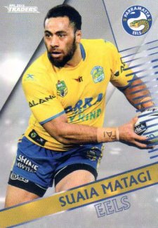 2018 NRL Traders Parallel Pearl Special PS98 Suaia Matagi Eels