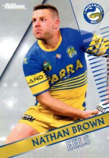 2018 NRL Traders Parallel Pearl Special PS92 Nathan Brown Eels