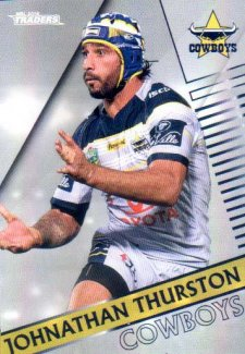 2018 NRL Traders Parallel Pearl Special PS90 Johnathan Thurston Cowboys