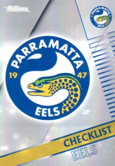 2018 NRL Traders Parallel Pearl Special PS91 Eels Checklist