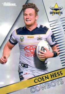 2018 NRL Traders Parallel Pearl Special PS85 Coen Hess Cowboys