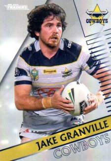 2018 NRL Traders Parallel Pearl Special PS84 Jake Granville Cowboys