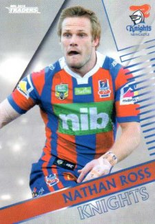 2018 NRL Traders Parallel Pearl Special PS78 Nathan Ross Knights