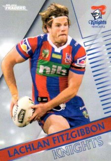 2018 NRL Traders Parallel Pearl Special PS74 Lachlan Fitzgibbon Knights