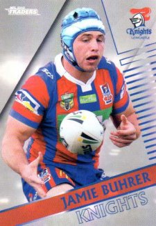 2018 NRL Traders Parallel Pearl Special PS73 Jamie Buhrer Knights