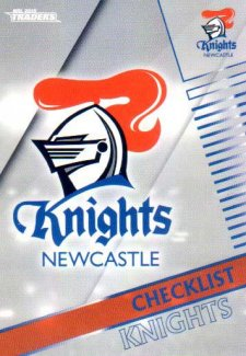 2018 NRL Traders Parallel Pearl Special PS71 Knights Checklist