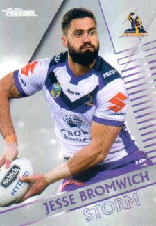 2018 NRL Traders Parallel Pearl Special PS63 Jesse Bromwich Storm