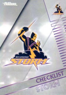 2018 NRL Traders Parallel Pearl Special PS61 Storm Checklist