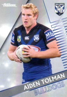 2018 NRL Traders Parallel Pearl Special PS30 Aiden Tolman Bulldogs
