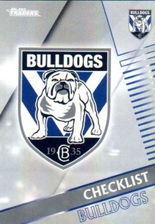 2018 NRL Traders Parallel Pearl Special PS21 Bulldogs Checklist